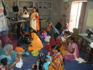 Bag making training Radhapur